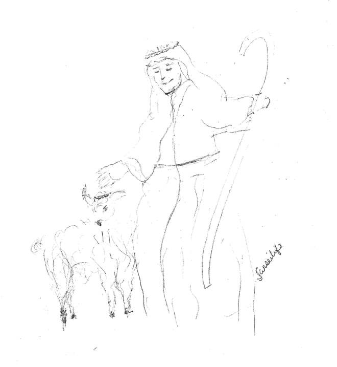 shepherd and sheep2